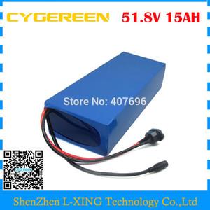 Dazio doganale libero 750W 14S batteria 52V 15AH Batteria per bicicletta elettrica 51,8 V 52 V ebike batteria al litio uso 3000mah 30B cella