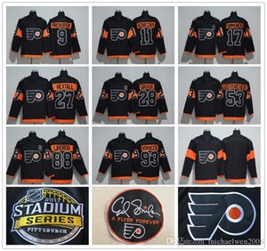 27 Ron Hextall 2017 Stadium Series Jersey 11 Travis Konecny 9 Ivan Provorov 88 Eric Lind Lind 93 93 Jakub Voracek Philadelphia Flyers Jersey