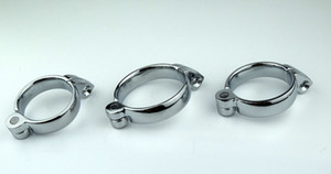 1 PC Adult supplies offbeat toys stainless steel male chastity belt lock clasp,cock ring,penis sleeve ring For Chastity Device