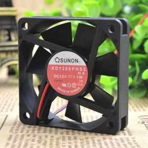 Pour Jian Zhun SUNON KD1206PHS2 12V 1.1W 6CM 6015 Ventilateur d'alimentation du châssis ultra-silencieux