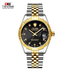 TEVISE Markenuhr Männer Frauen Halbautomatische Uhren Mode Luxus Mechanische Uhr Wasserdichte Leucht Sport Casual Armbanduhr S923