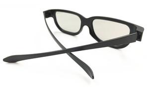 Universal-Typ 3D-Brille Cyan Anaglyph Vision Reald 3D Stereo-Brille Kunststoff für Plasma-TV-Spiel Film DHL Freeshipping