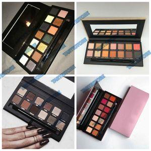 Nueva Paleta de Sombra de Ojos 4 Edición Moderna Master Soft Hills mate maquillaje impermeable paleta de sombra de ojos DHL Envío Gratis