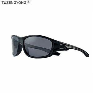 TUZENGYONG 2018 di marca Classic Black Frame Occhiali da sole polarizzati donne degli uomini di guida Occhiali da sole all'aperto antiriflesso Eyewear Oculos