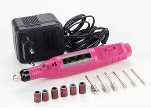 Meulage stylo machine ponceuse électrique mini ponceuse électrique Gundam outils de polissage des ongles de haute qualité kits de nail art LIVRAISON GRATUITE