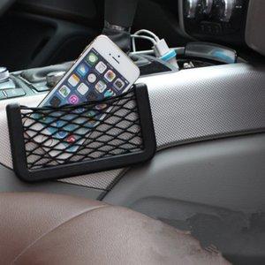 20*8 см автомобиль ящик для хранения Net Pocket стеки сумка для хранения авто мобильный телефон Net Pocket сумка стойки размещения организатор