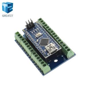 Arduino AVR ATMEGA328P için 1pcs V3.0 3.0 Denetleyici Terminali Adaptörü Genişletme Kartı IO Shield Basit Uzatma Plakalı