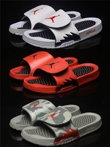 Erkekler Için tasarımcı Basketbol Sneaker Terlik 5 s Hidro 5 Serin Gri terlik sandalet Hidro Slaytlar basketbol ayakkabı sneakers Glow boyutu 40-46
