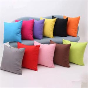 Peludo Cor Pura Almofada Travesseiro para Cadeira Confortável Resistência À Mancha Almofada Ao Ar Livre Não É Fácil De Deformar Almofadas Do Sofá Travesseiro