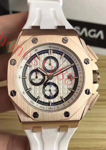 Directo de fábrica Para Hombres Moda Classic 44mm royal oak Offshore Michael Schumacher Japón VK Movimiento de Cuarzo Relojes de pulsera Sapphire 26568PM -A2