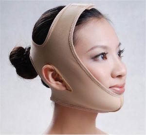 Maschera per il viso sottile Lift Reduce Double Chin Maschera per il viso Fascia per il trucco Fascia per il dimagrimento Fascia per la cura della pelle