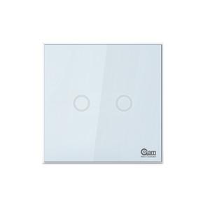 NEO COOLCAM NAS-SC01Z Z-dalga Artı Duvar Işık Anahtarı 2CH Gang Ev Otomasyon Z Dalga Kablosuz Akıllı Uzaktan Kumanda Işık Anahtarı