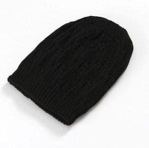 Trendy Soft Stretch Zopfmuster Beanie für Herren und Damen Winter Warm Ponytail Beanie Hat Cap