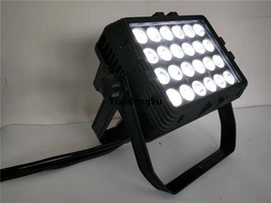 6 pezzi Impermeabile led DMX City Color RGBWA UV 24pcs 18w RGBWA UV 6in1 Outdoor LED City Color Light