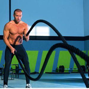 Liplasting 1Pc entrenamiento deportivo Cuerda Cuerda Huelga aptitud Batalla La aptitud para el entrenamiento de los músculos de formación / fuerza