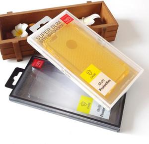 100 unidades venden al por mayor la caja de empaquetado plástica del PVC para la caja del teléfono celular del iPhone X con la caja de empaquetado de la caja del teléfono móvil de la suspensión