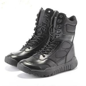 큰 크기 36-44 남자 전투 부츠 신발 남성 전술 부츠 사막의 신발 위장 군사 전술 부츠