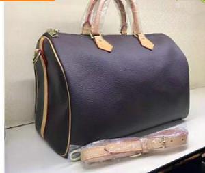 Borsa a tracolla donna Stile classico Borse moda donna Borsa a tracolla Borse Lady Totes Speedy 35cm # 41526