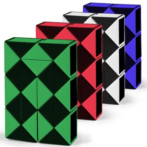 Direct selling children puzzle magic ruler 24 section folding decompression magic cube toy hot selling stall wholesale