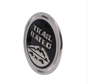 Cip kovboyu 2007-2017 için Trail puan 4x4 Bagaj Altı Fender Amblem Rozet LOGO