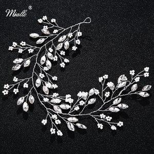 Miallo cristallo con strass capelli nuziale Vine Jewelry Accessori per capelli fasce Wedding i diademi e corone per la sposa S918