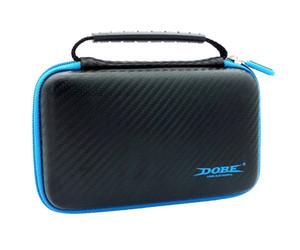 Lleva la caja para el caso de almacenamiento de serie de juegos de Nueva 2DS LL / XL EVA con 2 películas protectoras de pantalla 1 Stylus 8 Juego de tarjetas de almacenamiento bolsa de viaje