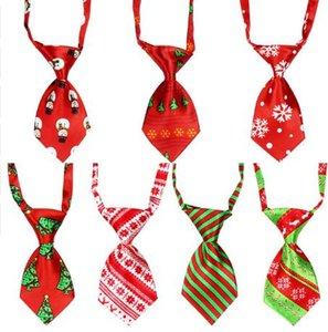 100 pcs natal feriado pet cão gravata ajustável bonito bow tie gravata grooming suprimentos y107