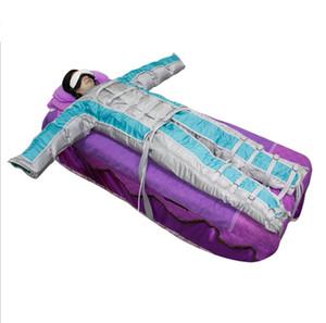 DHL2018 Date !!! sauna lymphatique drainage équipement de massage infrarouge couverture thermique pressotherapy machine Minceur corps