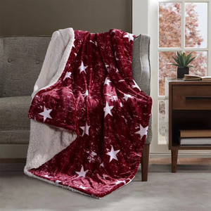 Red Star Design Couverture Mode Simple Automne Hiver Couverture Thicken Voyage Throw Home Office Navy 1,5 / 2 kg Nap Couverture