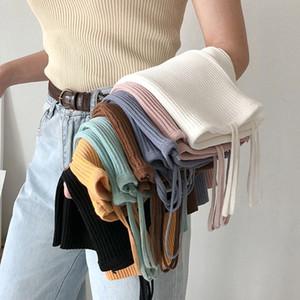 8 Цветов Mihoshop Ulzzang Корейская Корея Женская Мода Одежда Лето Повседневная Опрятный Основной Чистый Камзол