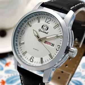 wwengle Nuevo Gucamel calendario de visualización de lunes a viernes de alta calidad Cinturón de acero vestido casual regalo de lujo reloj de cuarzo