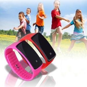 Accesorios de moda Pulsera Led Relojes electrónicos de silicona Niños Niños y Niñas Reloj de regalo de silicona para niños Relojes de pulsera