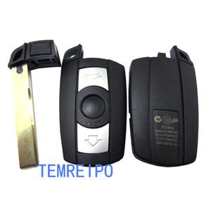Remote Key Case shell for BMW 1 3 5 6 Series Smart Key Shell Blade Fob E90 E91 E92 E60