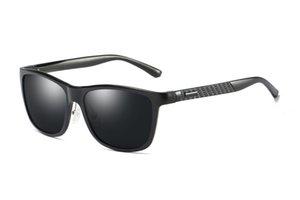 2018 nuovo arrivo occhiali da sole super cool 8587 uomini moda calda guida occhiali da sole polarizzati per gli uomini Al-Mg telaio in metallo ultra leggero