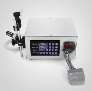 Máquina automática de llenado de líquidos LT130 Auto Digital Display Control numérico Líquido de relleno para pasta de crema cosmética