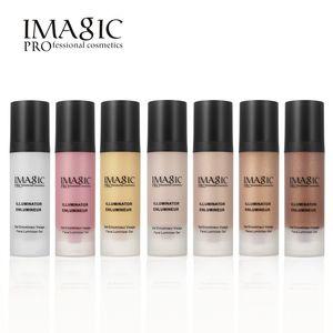 Imagic Face Gold Highlighter Makeup Liquid Glow Illuminator Face Contour Brightener Glow Shimmer Liquid Highlighter Make up