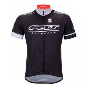 Pro FELT Cycling Jersey Bike manica corta Abbigliamento Estate Quick Dry bicicletta uomini camicia da mountain bike abbigliamento sportivo MTB 82001Y