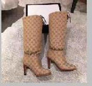 Winter heiß Stil, Luxus Frauen Winter Oberschenkel Stiefel, Herbst der Frauen mittlere Stiefel, Größe: 35-43