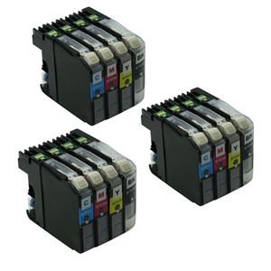 12PK LC101 101 cartouche D'Encre De Remplacement Pour Brother MFC-J470DW MFC-J475DW MFC-J870DW DCP-J152DW MFC-J285DW MFC-J450DW MFC-J650DW imprimante