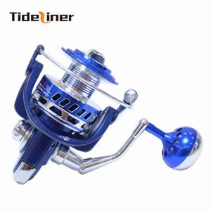 Tideliner тяжелый спиннинг рыболовная катушка соотношение 5.5:1 4.7:1 подшипники полный металл 12BB + 1rb поддельные приманки отсадки рыболовные колеса перетащить 35 кг