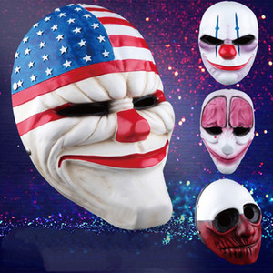 Maschere di nuovo disegno Minch Clown per Masquerade festa Clown Mascherina spaventosa Payday 2 maschera di Halloween Horrible