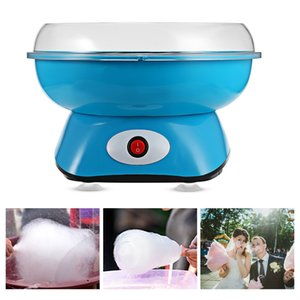 Hogar eléctrico Mini Sweet Cotton Candy Maker Nachine Nostalgia DIY Cotton Candy Sugar Machine para niños Regalo Niños Niña Niño TB
