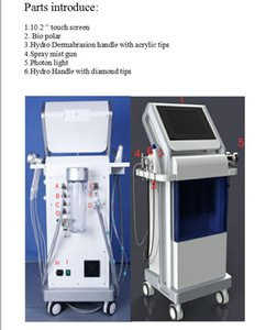 New arrival !!!High Quality hydra facial machine Hydra Dermabrasion Bio-lifting Spa Facial Machine
