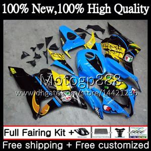 Shark Blue Injection + Tank Für HONDA CBR600RR 09 CBR 600 RR F5 09 10 11 12 61PG1 CBR 600RR CBR600 RR 2009 2010 2011 Verkleidung Karosserie