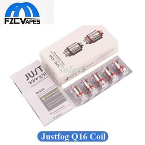 Authentische Justfog Coil Kopf für Q16 C14 Q14 G14 S14 Kit Tank Zerstäuber 1,2 ohm 1,6 ohm Vape Kern 100% Original