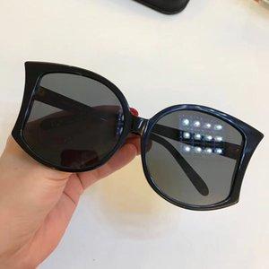 595 Galeria de Moda de Luxo Rodada Óculos De Sol Com Revestimento Lente Espelho Proteção UV Popular Marca Designer de Qualidade Superior Vem Com Caixa