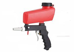 Pistola ad aria pneumatica con sabbiatrice, sabbiatrice a sabbia d'aria, sabbiatrice 21 libbre