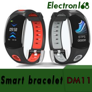 DM11 Smart Wristband IP68 Impermeabile Wristband Wristband Monitor Smart Watch Colore 3D Dynamic UI LCD Screen per iOS Android 1pz