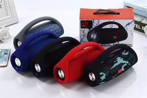 Portable Bluetooth Boombox Speaker Wireless Stereo Sound with Microphone Support TF AUX FM Radio Speakers For Phone PC