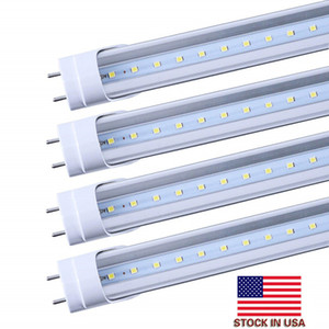 LED-Lampen Rohre 4 Feet FT 4ft LED Röhre 18W 22W T8 Leuchtstofflampe 6500K Cold White Fabrik Wholesale + Auf in US